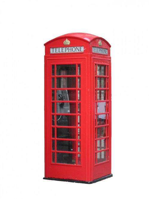 telephone box public