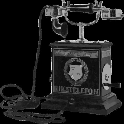 telephone instrument antique