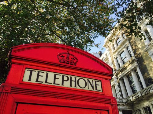 telephone booth london booth