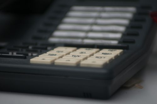 Telephone Dial Pad