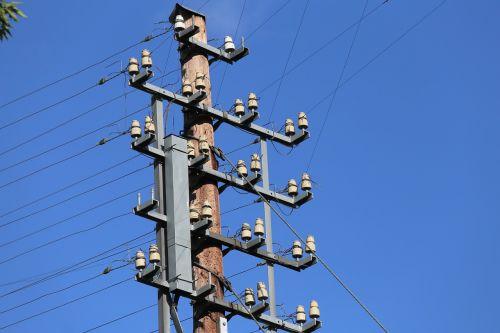telephone lines overhead power lines phone