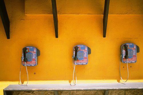 telephones call center public