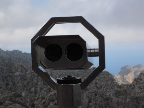 telescope by looking view