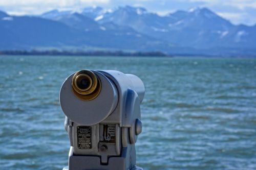 telescope view distant