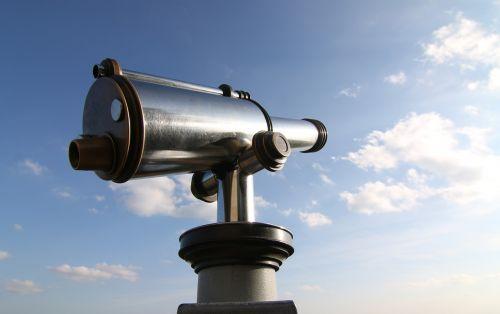 telescope sky cyan