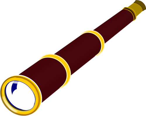 telescope spy-glass long glass