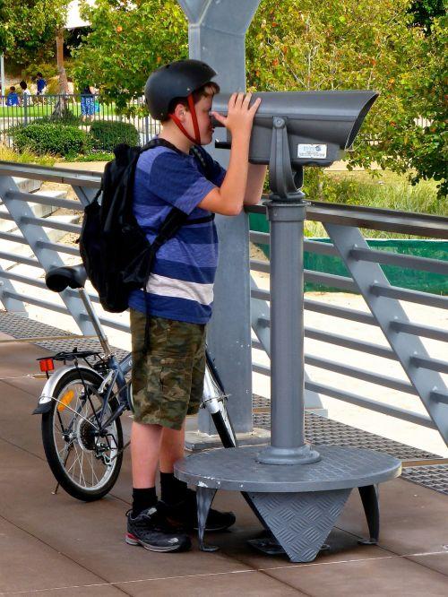 telescope view surveillance