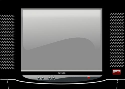 television tv crt