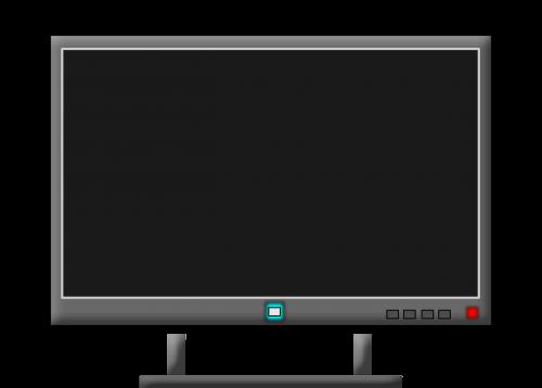 television monitor tv