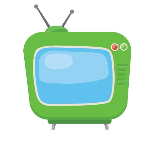 television clip art clipart