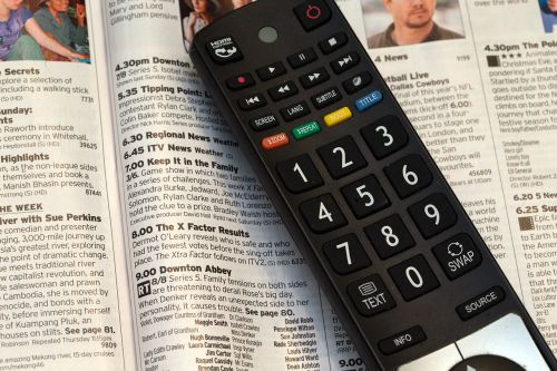 television remote control television programme tv