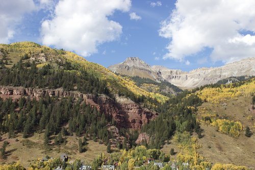 telluride  valley  colorado
