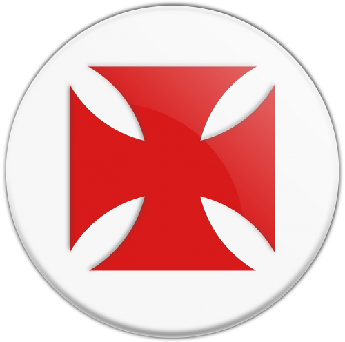 templar cross red