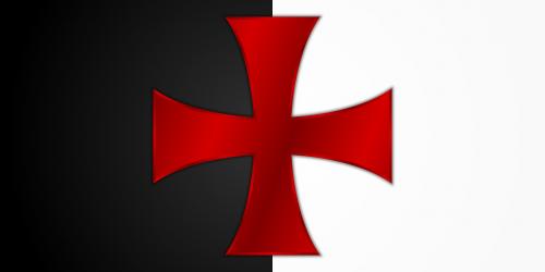 templar knight cross