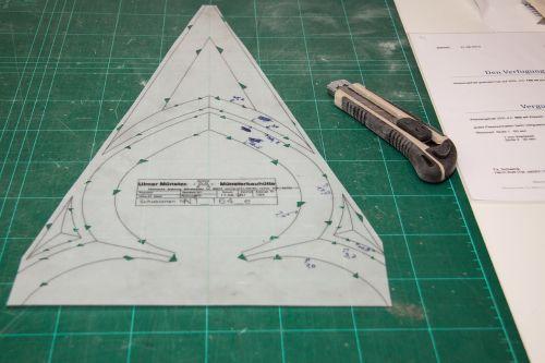 template cut out pattern cut contours