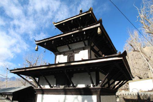 temple hindu himalayas