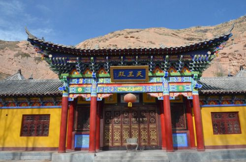 temple zhangye tibetan culture