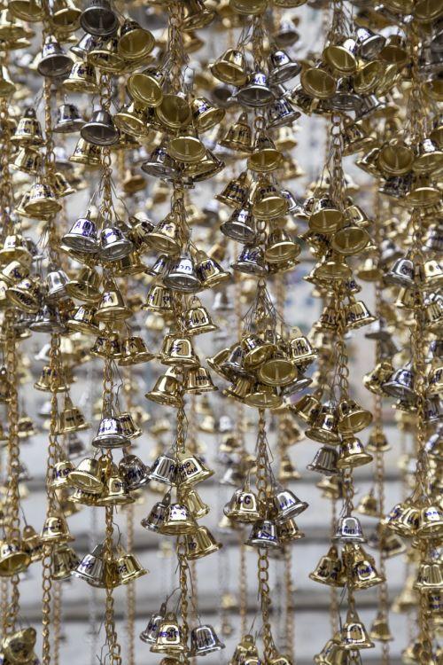 temple bells hang