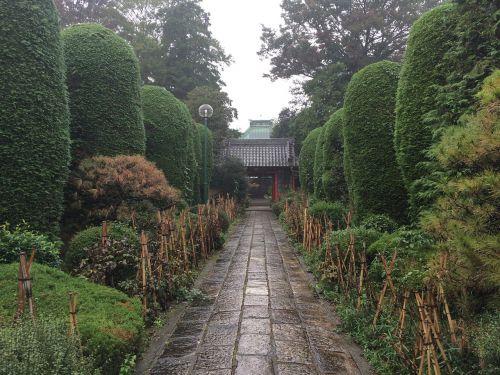 temple gate cobblestone