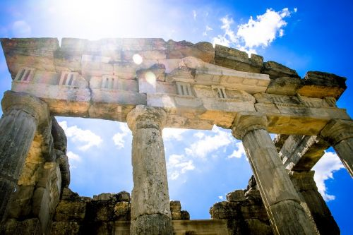 temple ancient ruins