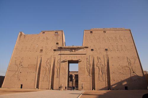 temple egyptian entrance