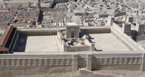 temple  model  jerusalem