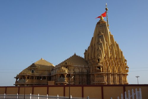 temple  somnath  architecture
