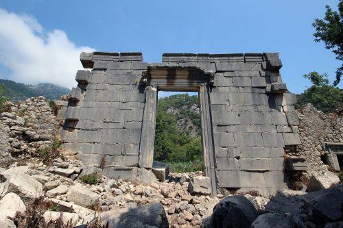 temple olympos antalya