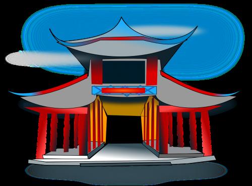 temple architecture pavilion