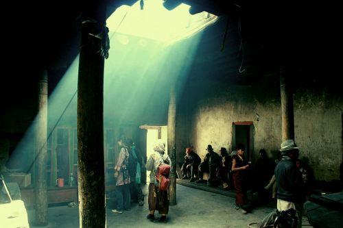 temple ladakh india