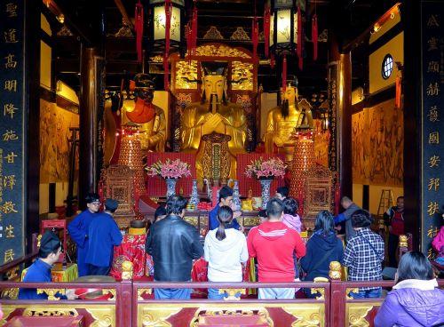 temple shanghai china