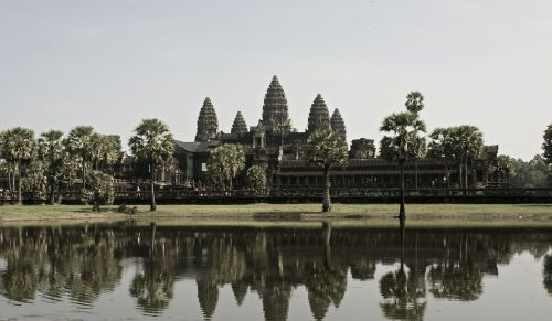šventykla,angkor wat,Kambodža,į pietryčius,asija,wat,šventyklos kompleksas,akmens masažuoklis,džiunglės