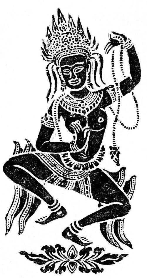 temple dancer deity