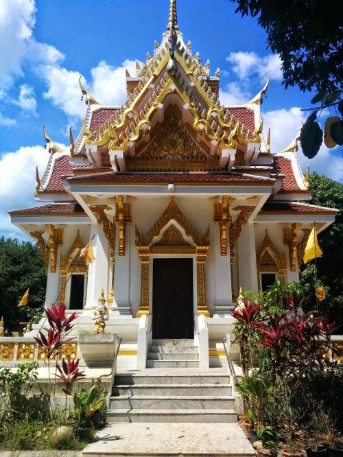temple koh samui nature