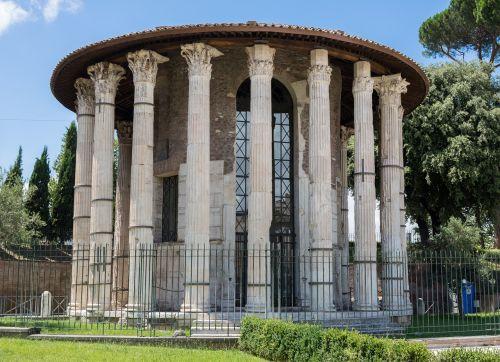 temple hercules winner ancient rome