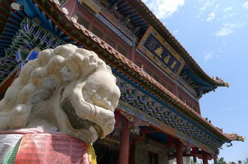 temple shishi mongolia