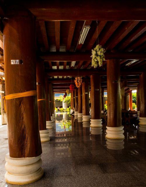 temple hall arcade temple complex