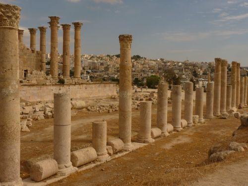 temple of artemis gerasa jerash