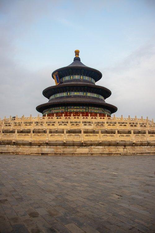 temple of heaven  beijing  architecture