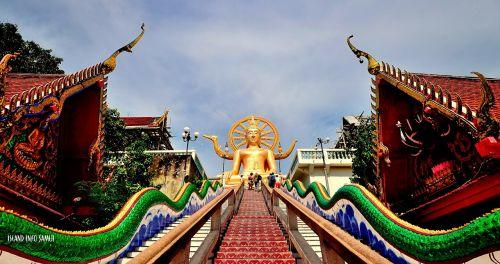 temples buddhist koh samui