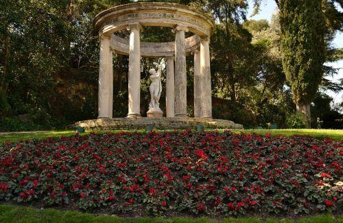 templete gardens monuments
