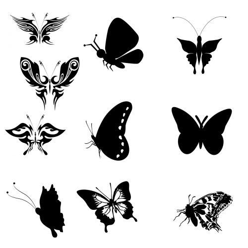Ten Butterflies