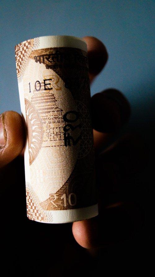ten rupees  money  rupee