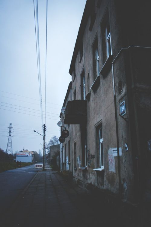 Būstas,namas,gatvė,vintage,lodz,Lenkija,Lenkija