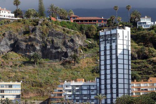 tenerife the coast landscape