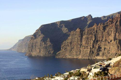 tenerife cliff rock