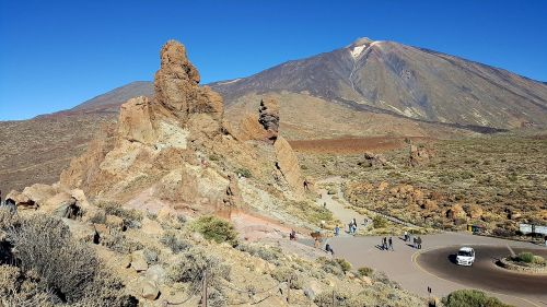 tenerife teide canary islands