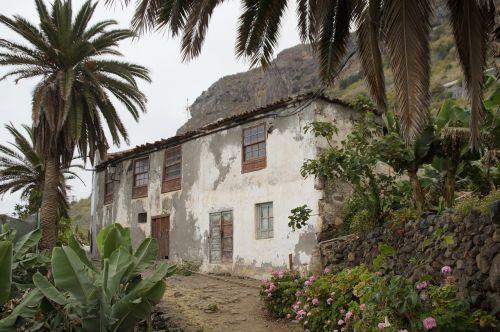 tenerife landscape home