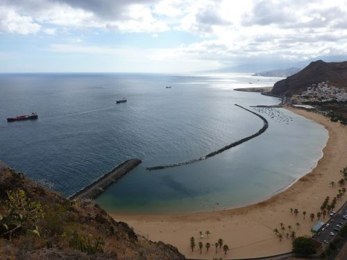 tenerife beach teresitas