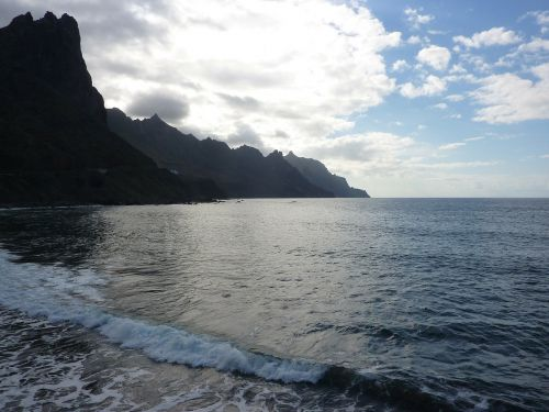 tenerife beach anaga